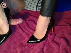 Handjoy * Hira wants her shoes and feet covered by cum*requested by caldo90