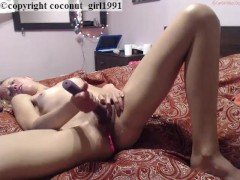 Orgasm torture loud moaning coconut_girl1991_030217 chaturbate REC