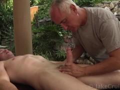 Tex Gemmell Massaged by Jake Cruise