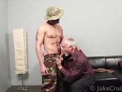 Unknown Soldier Barebacks Jake Cruise