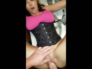 Sassy B Pounded on the Bathroom Sink(Full Version)