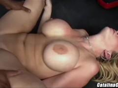 Sara Jay interracial cum guzzler from a BBC