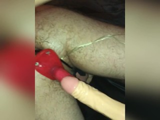 girl fuck hard with strapon man