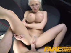 Fake Driving School great boobs blonde gets have sexual intercourse and cumshot splattered glasses Barbie SinsMax Deeds | Porn-Update.com