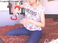 Nylon fetish perfect ass coconut_girl1991_180217 chaturbate REC