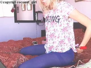 Nylon fetish perfect ass coconut_girl1991_180217 chaturbate REC