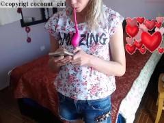 Valentines day flexible girl coconut_girl1991 chaturbate REC
