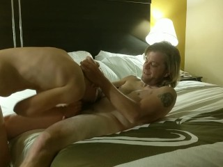 Cock hungry slut fucked hard