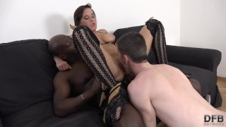 Girlfriend Anal Sex she wants Interracial and her boyfriend to watch her  ass fuck cuckold cumshot missionary stranger hardcore cock sucking girlfriend interracial rough deepthroat anal doggystyle cum licking boyfriend backdoor