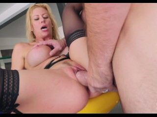 BANG Gonzo: Alexis Fawx Squirting MILF Gets Fucked Raw