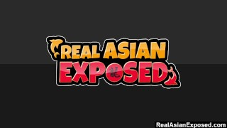 RealAsianExposed - Ajenda's tight sexy body drives her masseur wild  tight pussy pigtails creampie asian amateur blowjob small tits skinny massage hardcore japanese brunette petite fingering realasianexposed perky tits