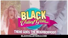 BlackValleyGirls - Geeky Ebony Teen Gets Fucked