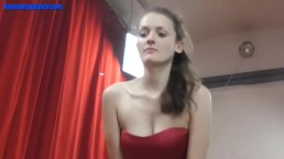 Horny girl fucks him after dance