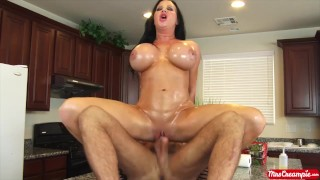 Big tits MILF Sybil Stallone wants cum shot up in her pussy - Mrs. Creampie