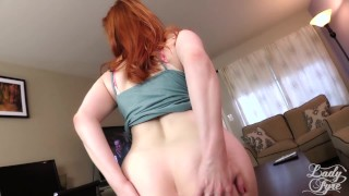 Summer Visit to Auntie's House -Lady Fyre Virtual Sex  point of view olivia fyre hairy pussy redhead mom masturbate pov milf kink butt heels mother embarrassed reluctant aunt virtual sex