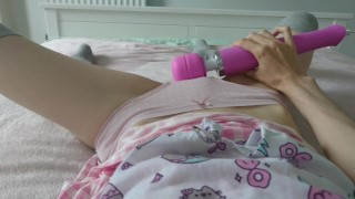 little girl misses her daddy and comes for him | loud intense orgasm  point of view trembling orgasm teasing masturbate young vibrator ddlg stockings teenager adult toys cute teen little girl magic wand age play daddys little girl cute girl