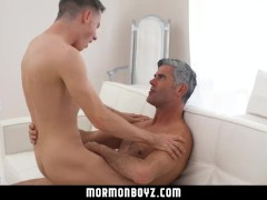 mormonboyz - Handsome cult leader fucks quiet submissive boy