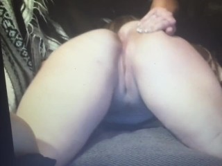 bend me over!!!!! watch me bent over playing with my wet pussy
