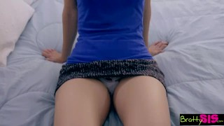 Preview 1 of Bratty Sis - Sister And BFF Fall For Brothers Sex Games