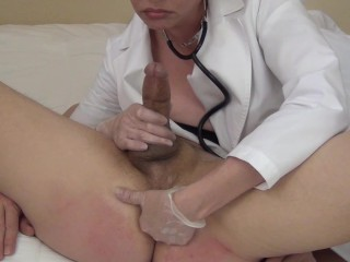 Let's Play Doctor (femdom)