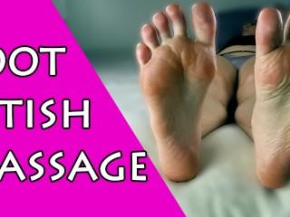 FOOT MASSAGE │OILED SOLES │FETISH │VIVIAN ROSE