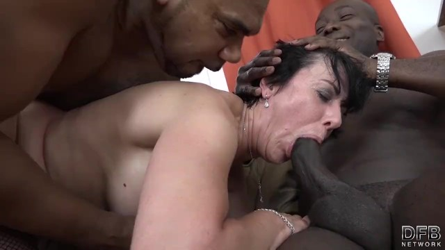 German Mature Threesome Porn