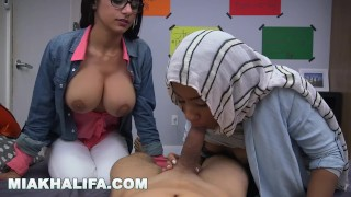 MIA KHALIFA - Taboo Arab Pornstar Gives Blowjob Lessons