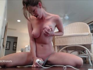 Hitachi Hard Orgasm moaning & JOI