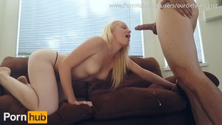 Preview 5 of Tiny Teen Haighlee Gets Huge Facial FromThick Throbbing Dick-ODLS