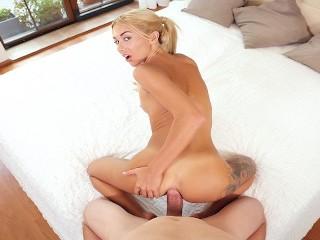 18VR.com Giving Katrin Tequila Hard Anal Fuck In POV