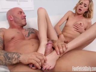 Haley Reed Foot Fetish Fucking