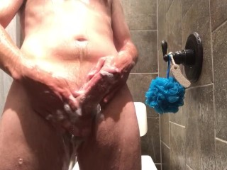 A steamy and hot shower with all the cum you need