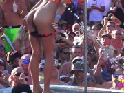Nude Fantasy Fest Key West POOL PARTY Strip Off