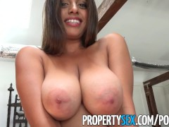 PropertySex  Potential client impressed by big natural breasts Ella Knox | Porn-Update.com