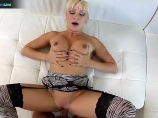 Adorable blonde Lea Lexis unforgettable POV sex scenes