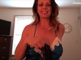 Blackmailed By Mom After Being Caught With Her Cum Stained Panties