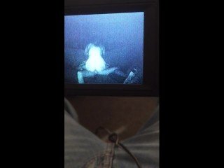 Ex girl riding big dick (night vision)