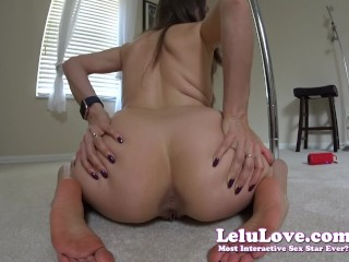 Lelu Love-Twerking My Booty And Puckering My Asshole