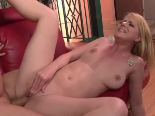 Blonde Chix Sucks and Fucks Big Dicked Boyfriend