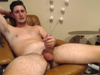 Righteousrod shoots a hot cumsplosion on cam