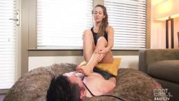 Brats.TV Foot Licking Femdom Sessions