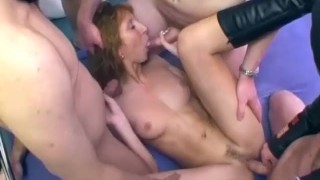 german Milfs first bukkake orgy