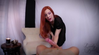 Premature Ejaculation: an Embarrassing Curse! -Lady Fyre  big ass point of view ejaculation big cock ginger redhead mom premature halloween2017 milf kink pawg witch butt mother embarrassed