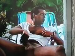 Exclusive XXX Celebrity Sex Tape - Supermodel Cory Jerking off his Big Cock