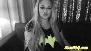 Samantha38g weekly members live cam show part 3 big boobs