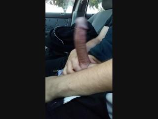 Jerking Off In My Car