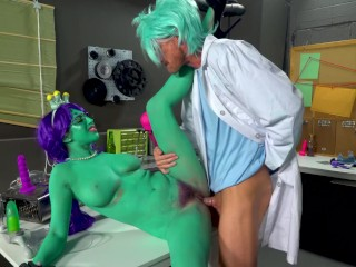 "Rick and Morty Porn Parody: ""Dick and Morty"""
