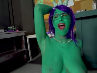 Dick and Morty Porn Parody (Premium Pickle Rick Version)
