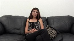 backroom casting couch tube porn Hot Brunette Teen gets Fucked on the Casting Couch while she shoots a POV  Porn Video.