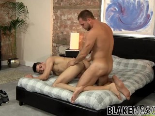 Hans Berlin and Danny Montero have steamy anal fuck session